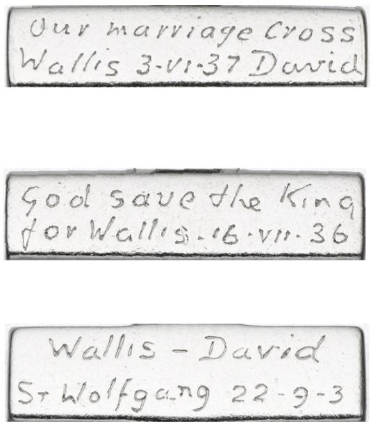 Bracelet Inscriptions.