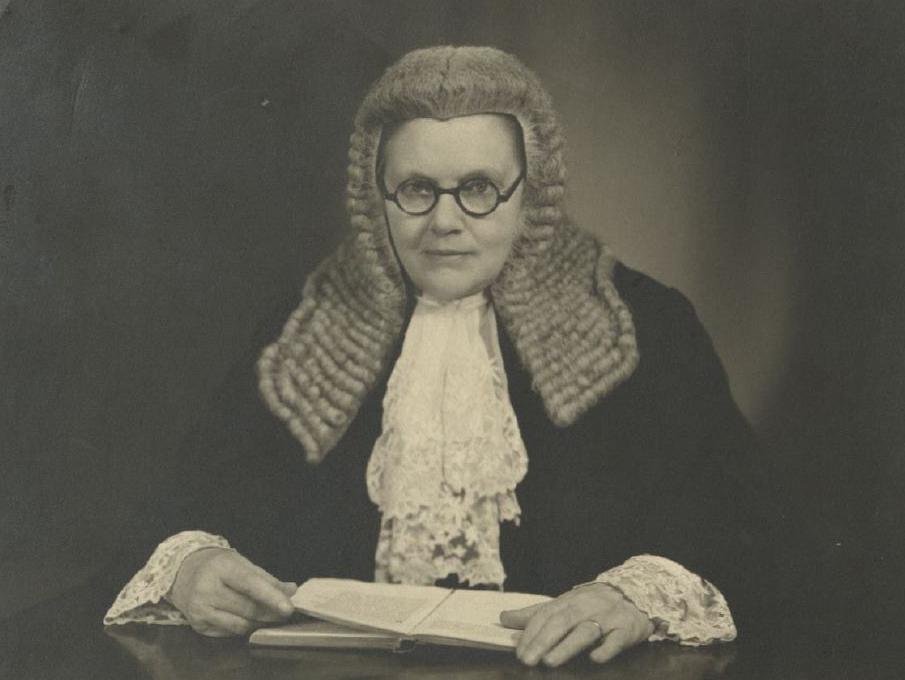 Helena Normanton.