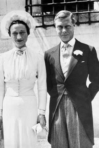 Wallis on her wedding day, 1937.