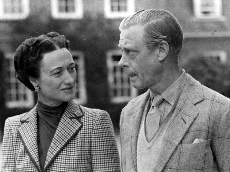 The Duke and Duchess at Ednam Lodge, 1946.